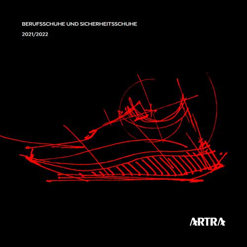 Artra Berufsschuhe und Sicherheitsschuhe Katalog Cover