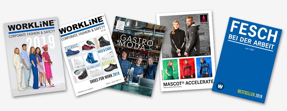 Workline Arbeitsbekleidung - Kataloge