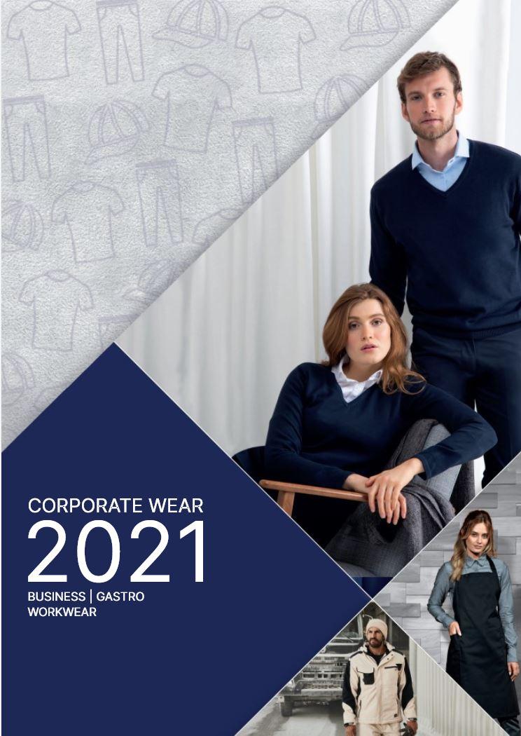 Corporate Wear 2021 Katalog Cover