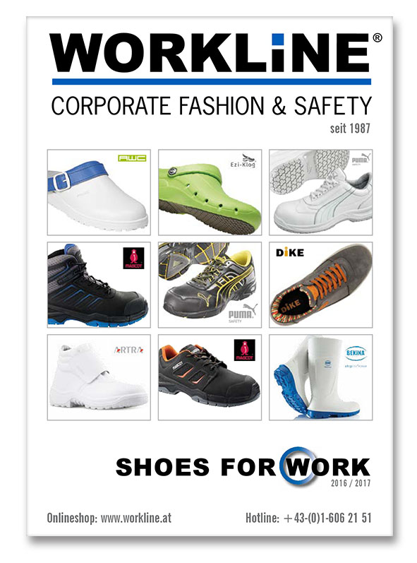 Workline Katalog Shoes for work