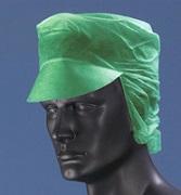Schildmütze Vlies mit Haarnetz