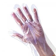 PE-Einmalhandschuh geprägt