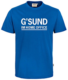 Transferdruck G'SUND IM HOME OFFICE