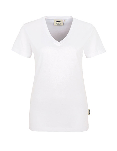 HAKRO Damen-V-Shirt Classic