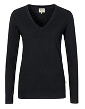 HAKRO Damen-V-Pullover Merino Wool