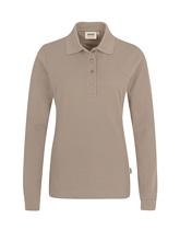 HAKRO Damen-Longsleeve-Poloshirt MikraLinar®