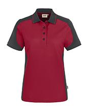 HAKRO Damen-Poloshirt Contrast MikraLinar®