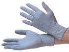 Latex-blau Einweghandschuhe