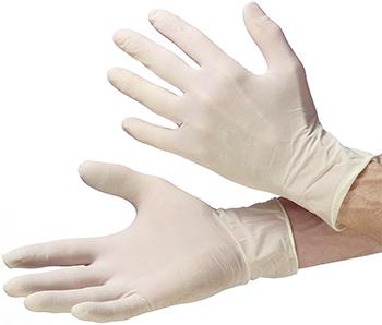 Latex-natur Einweghandschuhe