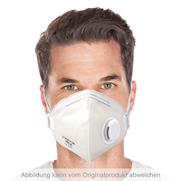 FFP2 NR Atemschutzmaske mit Ventil