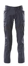 MASCOT® Hose, Schenkeltaschen, Stretch-Einsätze