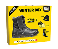 SAFETY JOGGER Nordic S3 SRC in der Promo-Winterbox