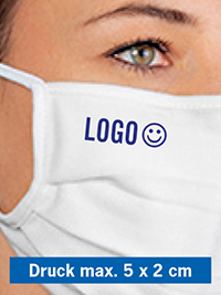 Logodruck für waschbare MNS-Masken