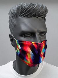 Mund-Nasen MASKE mit individuellem ALL-OVER-PRINT